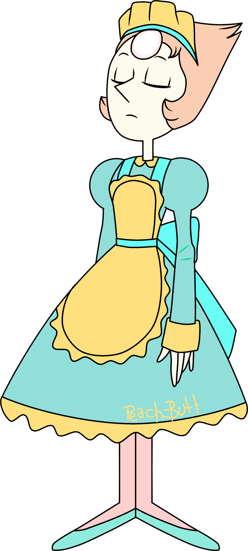 Pearl steven universe know. Maid clipart maid outfit