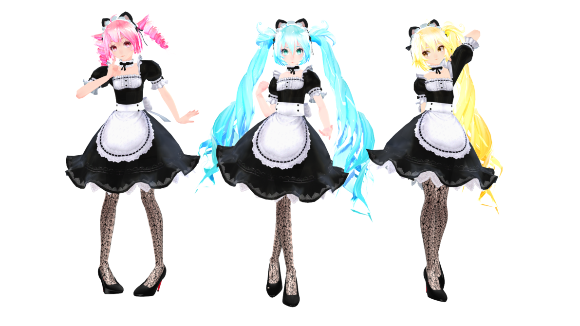 Maid clipart maid outfit. Model dl tda by