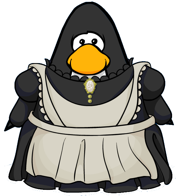 Maid clipart maid outfit. Image from a player
