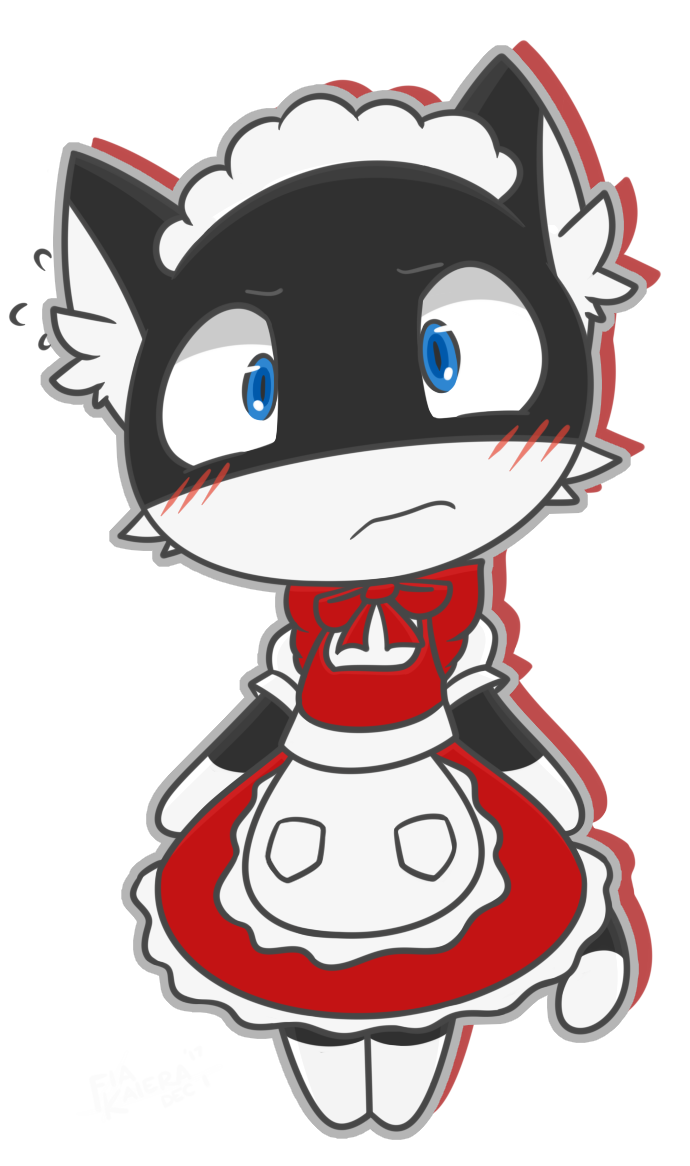 Morgana butler dlc by. Maid clipart maid outfit