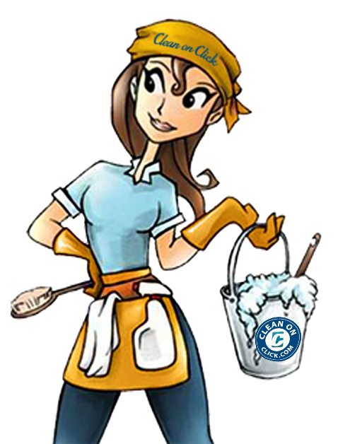 Clean on click google. Maid clipart maid service