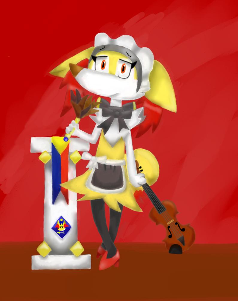 Cecilia the by iggykoopa. Maid clipart servant