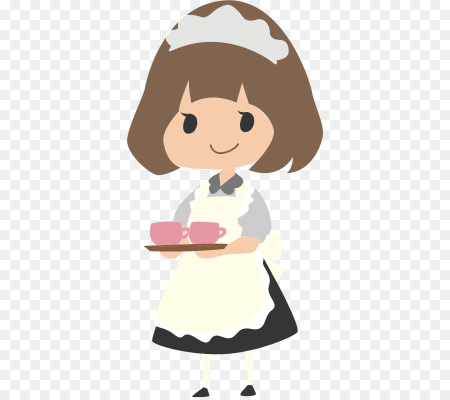 Download free png clip. Maid clipart servant