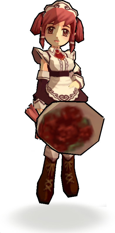 Sweetheart pet domo wiki. Maid clipart transparent