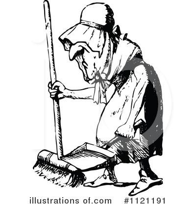 Illustration by prawny . Maid clipart vintage