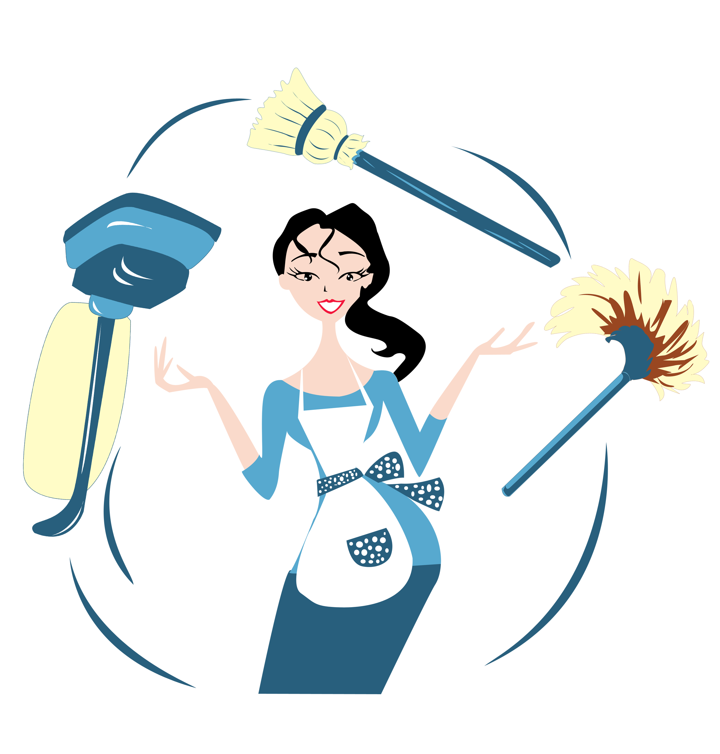 Maid clipart washing dish. Lalocamaid cleaning services in