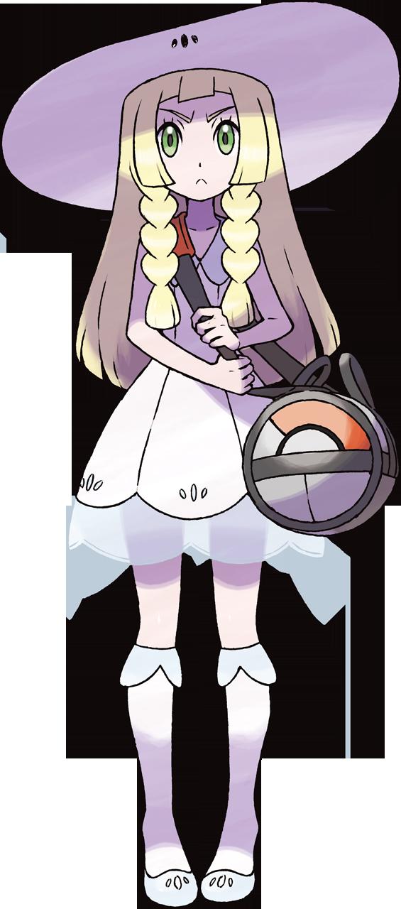 Maid clipart yaya. Lillie from pokemon sun