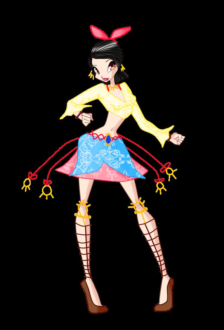Tekken new character by. Maid clipart yaya