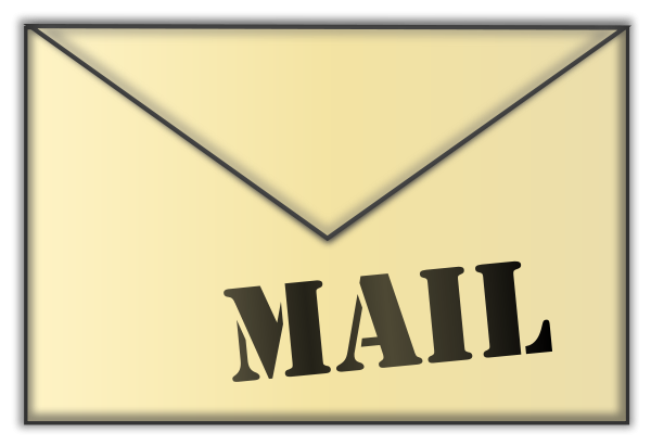 Mail clipart. Clip art free panda