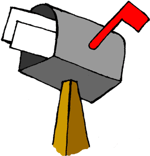 Free animated cliparts download. Mailbox clipart cartoon