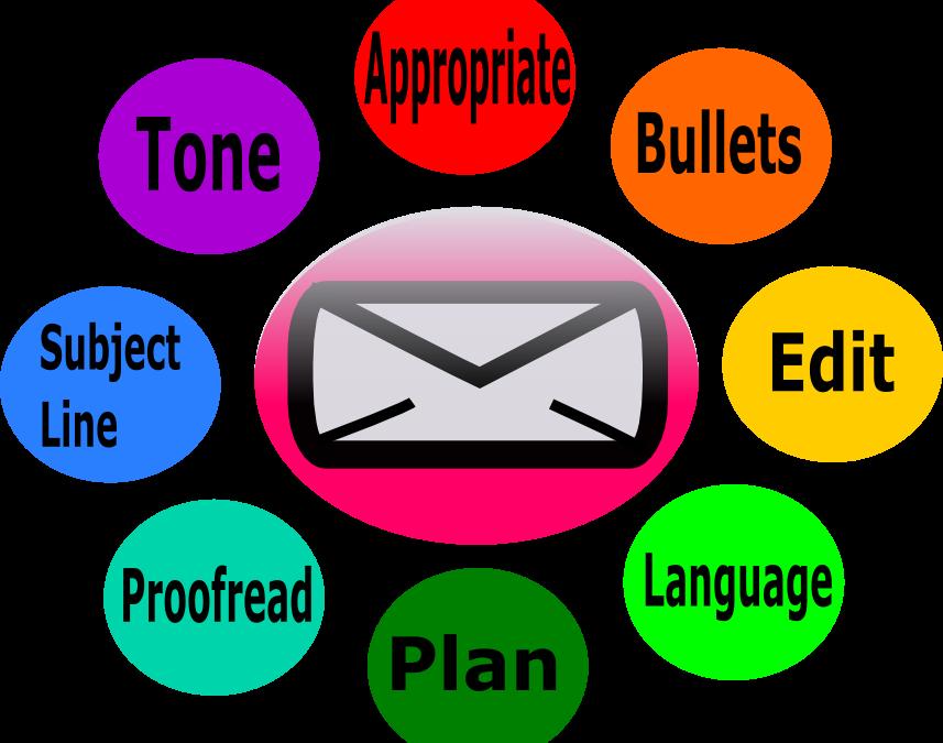 Romeo landinez co. Mail clipart email etiquette