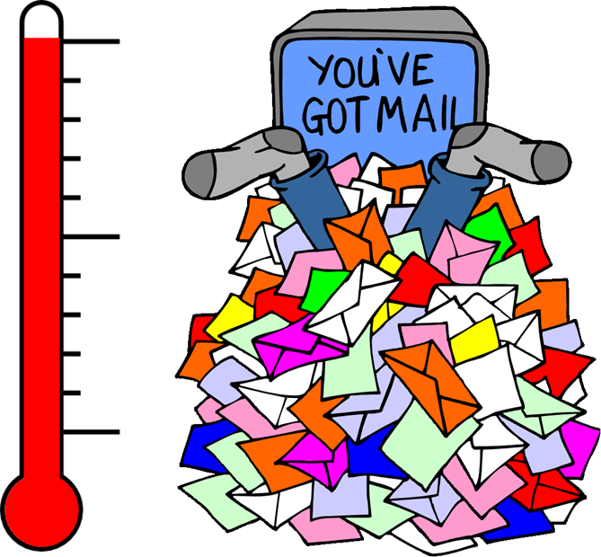 Test focusky. Mail clipart email etiquette