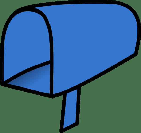 Cartoon Empty Mailbox