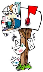 Mailbox clipart full mailbox. Mail box free download