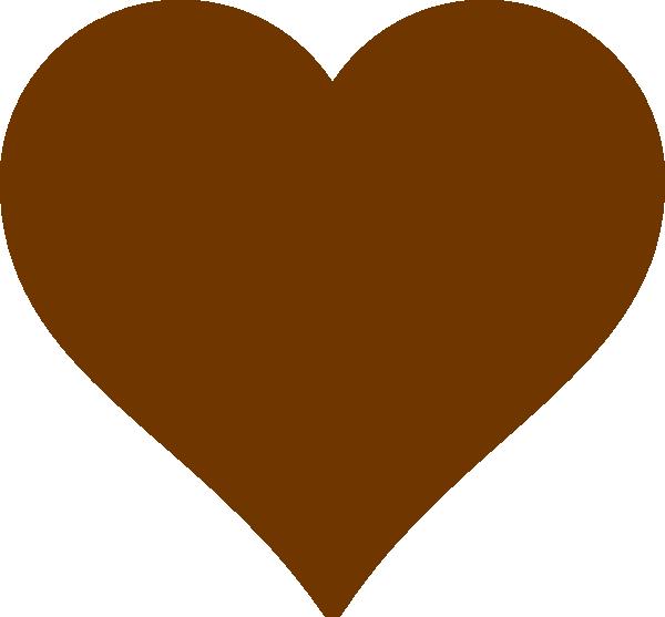 R clipart heart. Brown clip art at