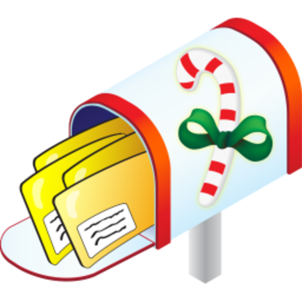 Christmas Mail Clipart
