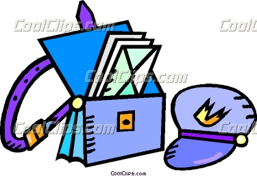 Postal carriers panda free. Mail clipart mail bag