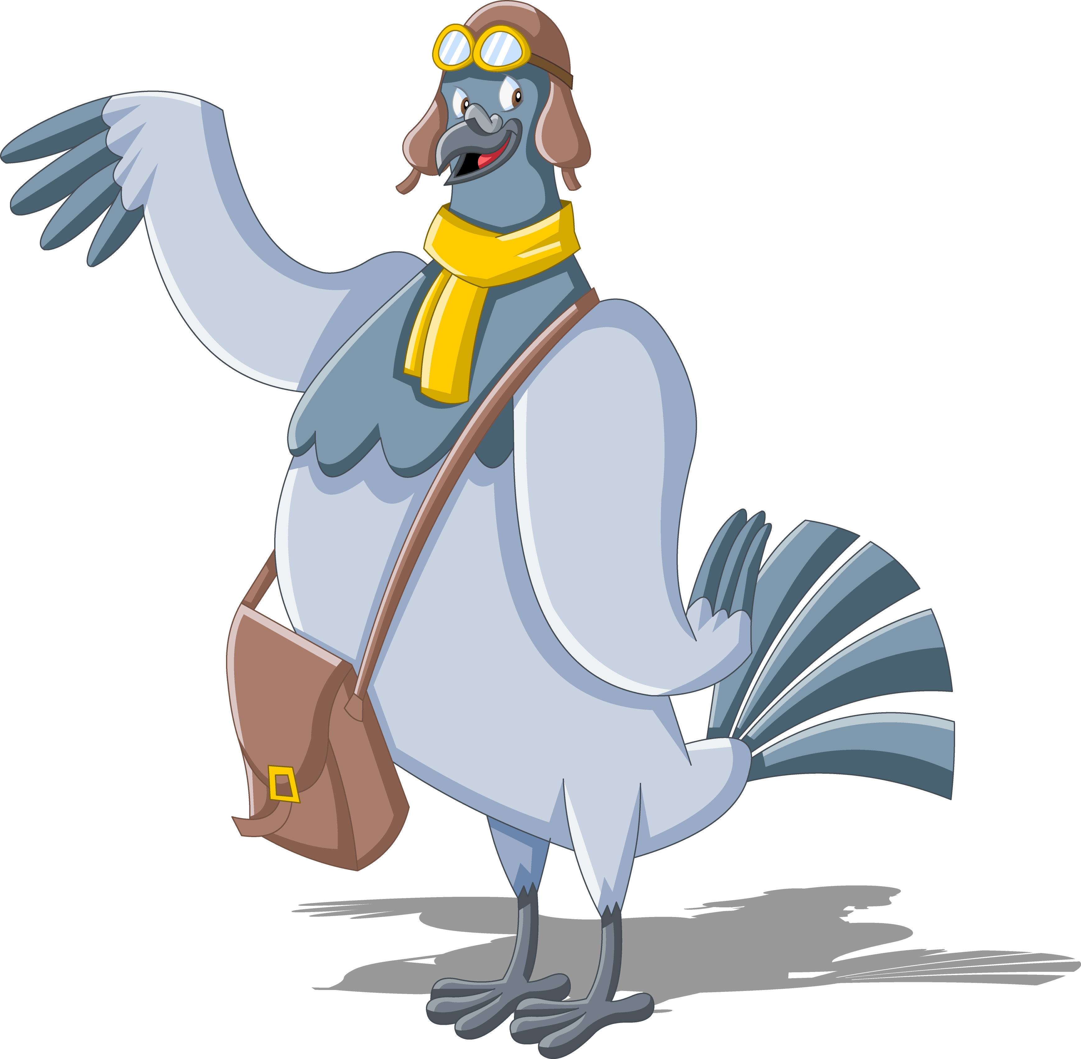 Homing pigeon cartoon clip. Mail clipart mail carrier