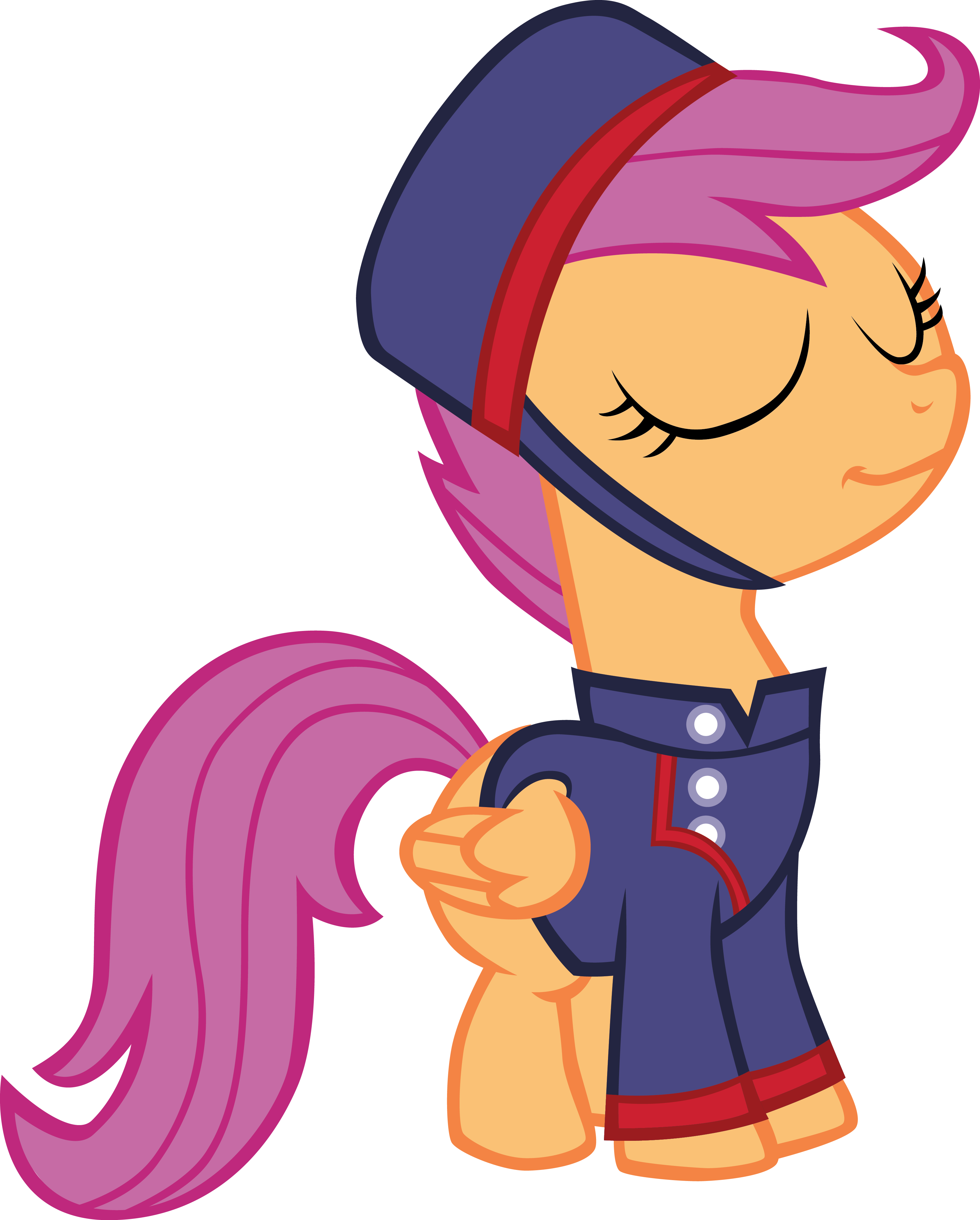 Mail clipart mail carrier. Junior scootaloo by sircinnamon