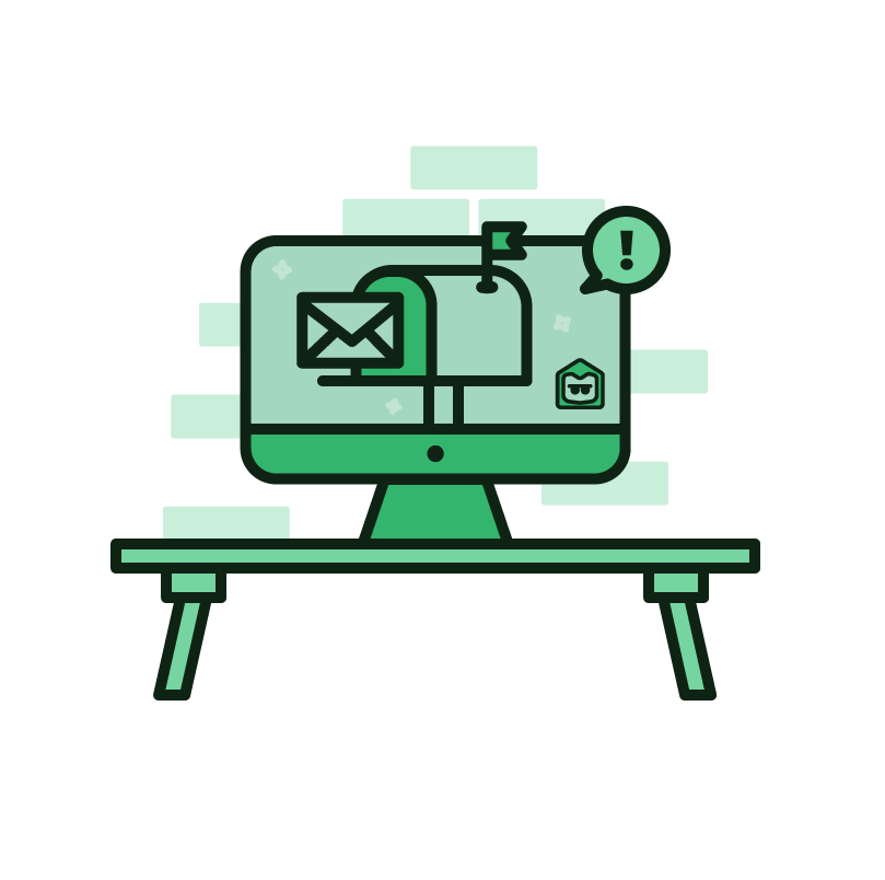 Mail forwarding for business. Mailbox clipart postal service