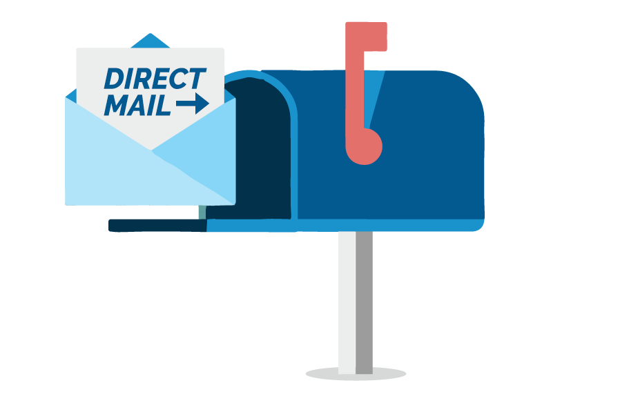 Mailbox clipart postal service. New mover direct mail