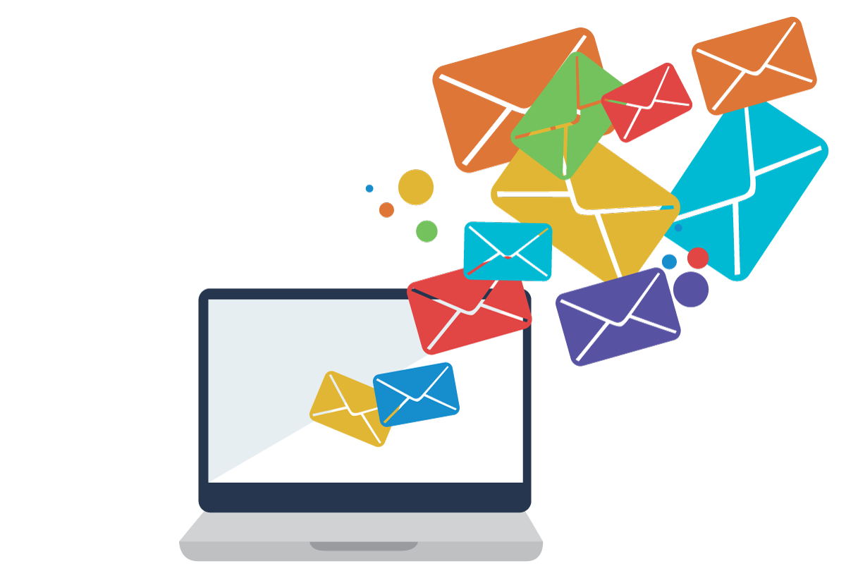 E services unique media. Mail clipart mail room