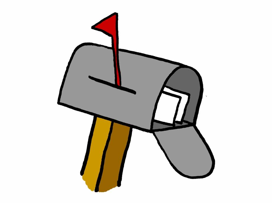 Mailbox clipart cartoon. Us mail kid post