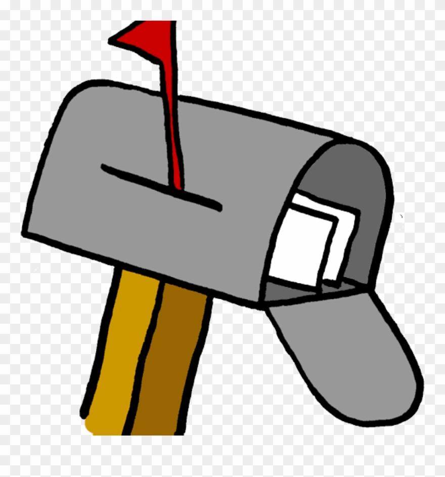 Mailbox clipart mailing address. Mail box image black