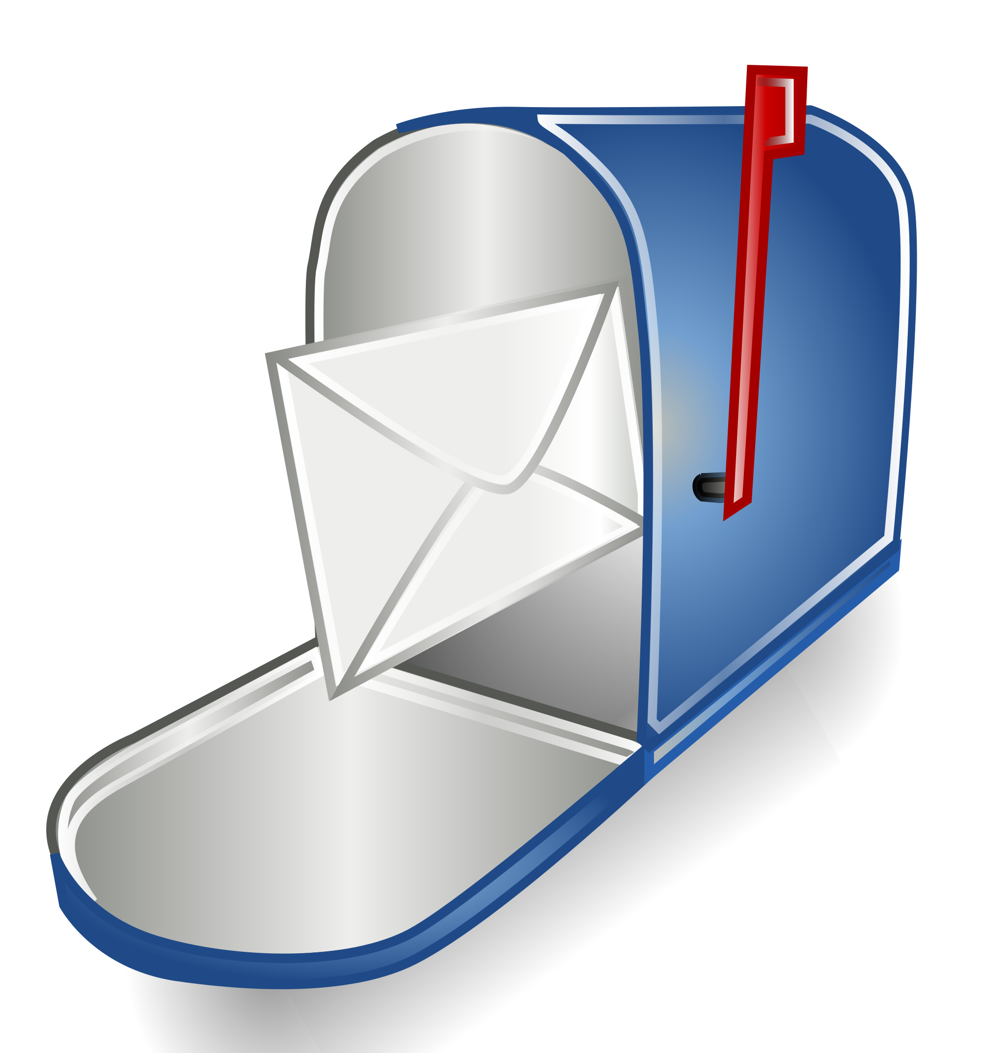 D maraya co open. Mailbox clipart blue mailbox