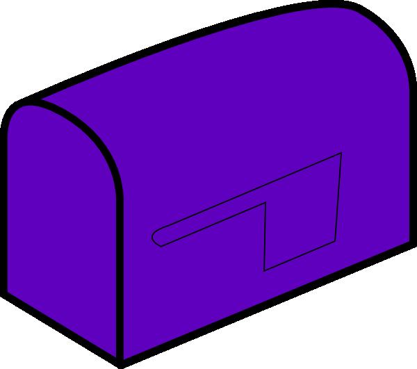 Purple clip art at. Mailbox clipart love