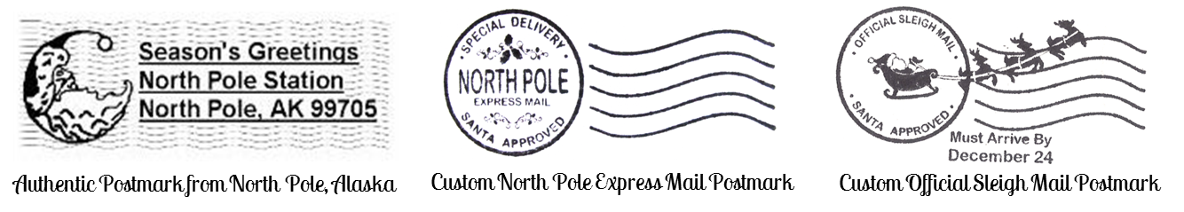 luxury letter from. Mail clipart north pole