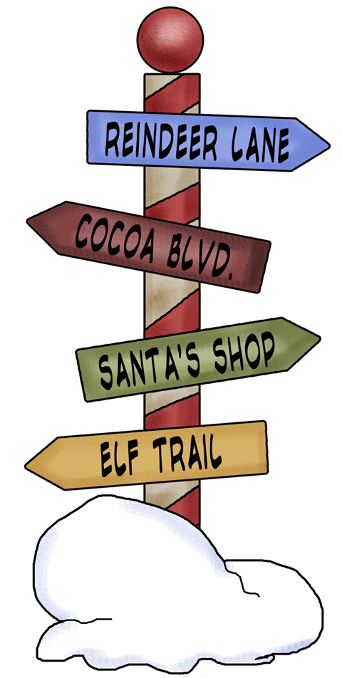 Mail clipart north pole.  amazing christmas png