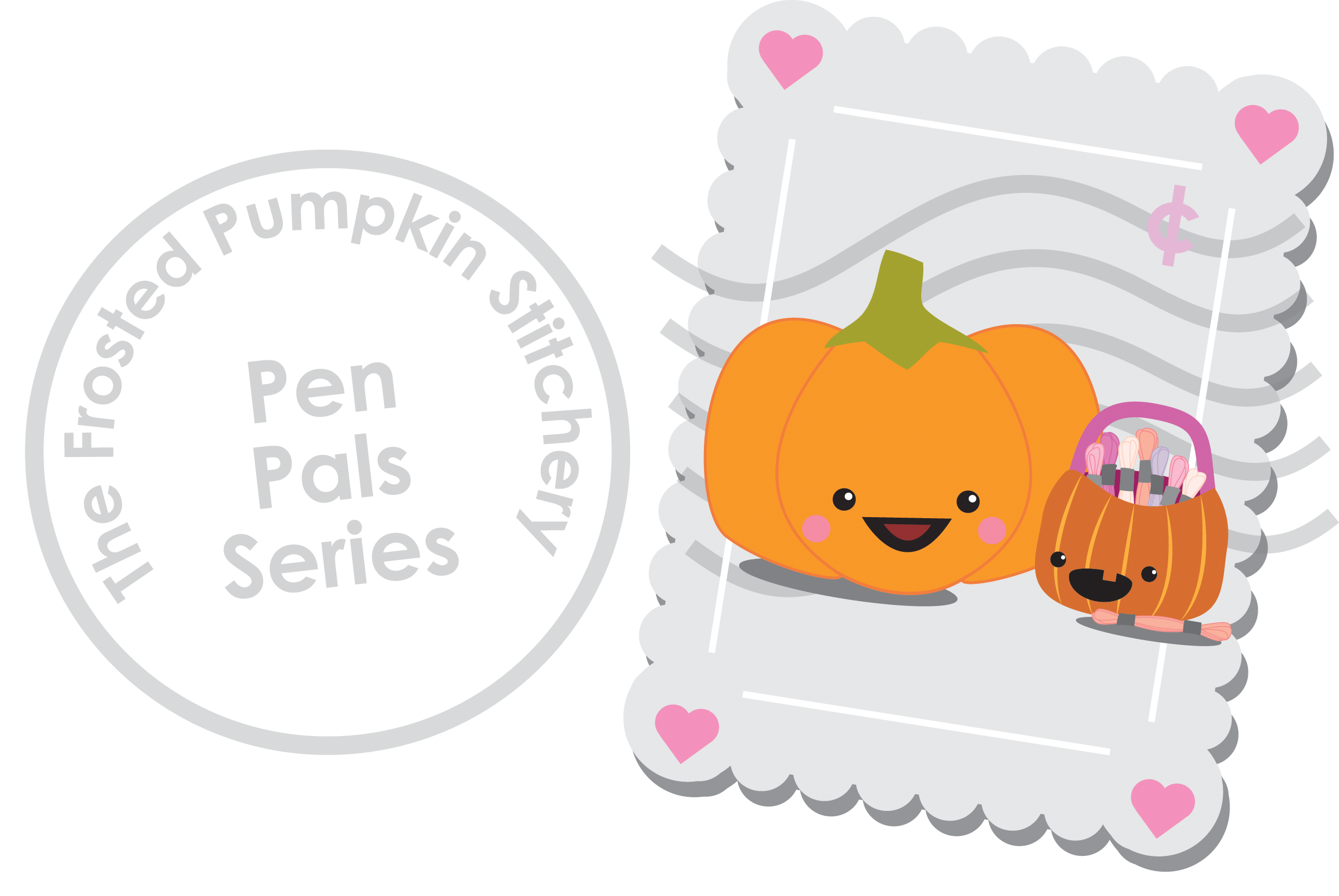 Mail clipart pen pal. Pals the frosted pumpkin