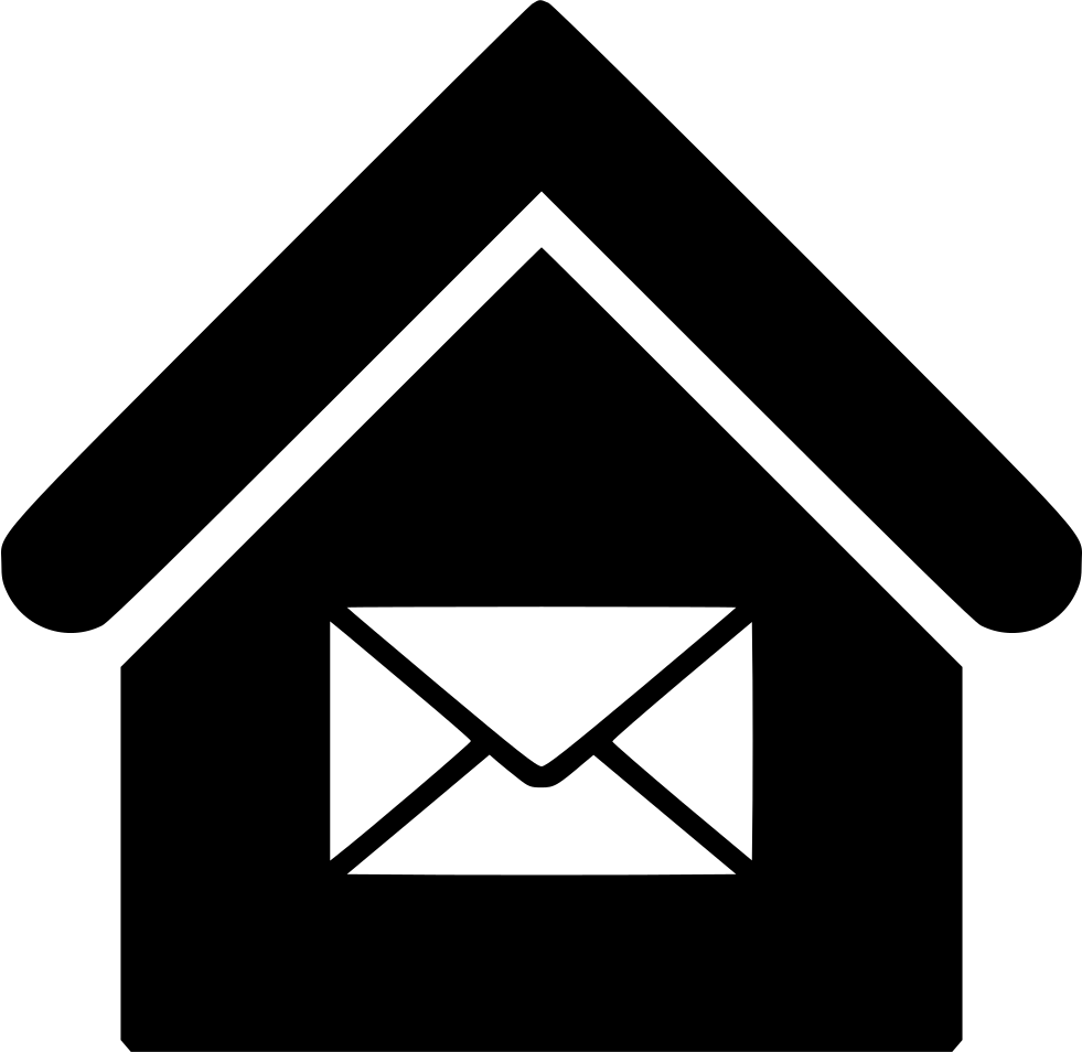Mail clipart post office. Svg png icon free
