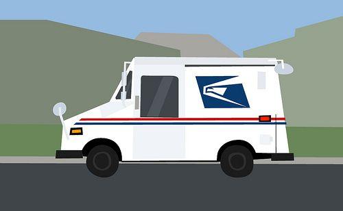 Usps clip art google. Mailbox clipart mail truck