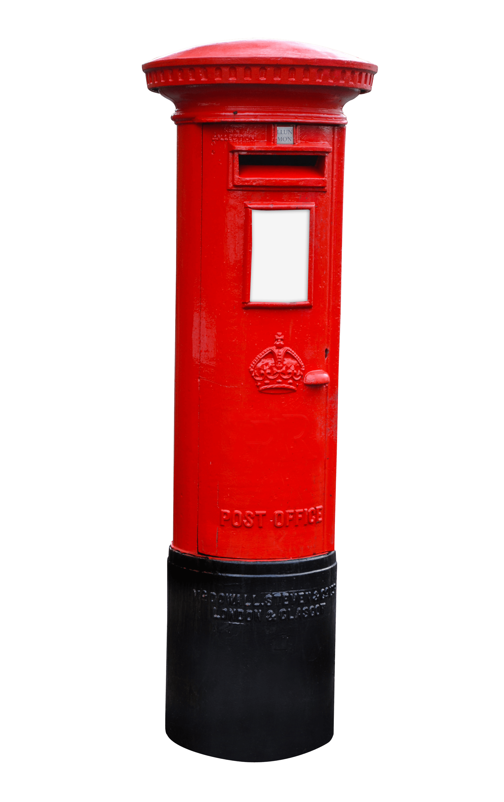 Mail clipart postbox. Royal post box icon