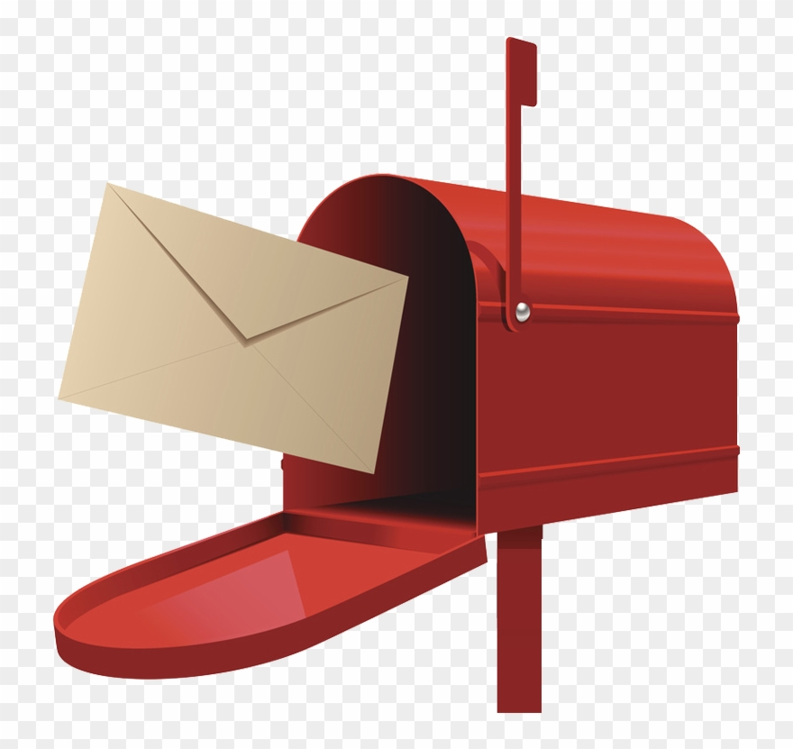 Mailbox clipart mail letter. Post box illustration png