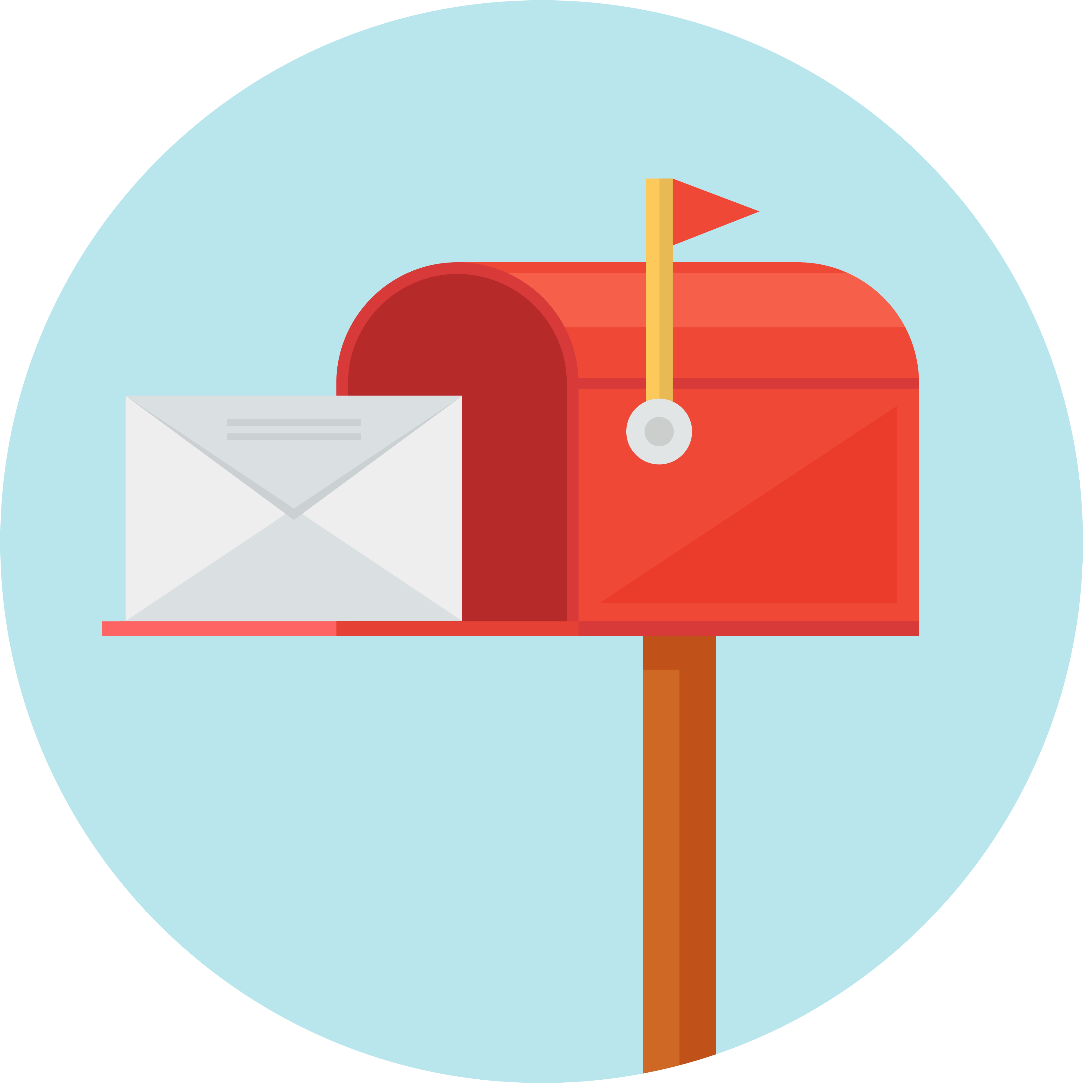 Mailbox clipart direct mail. Strunk media group vector