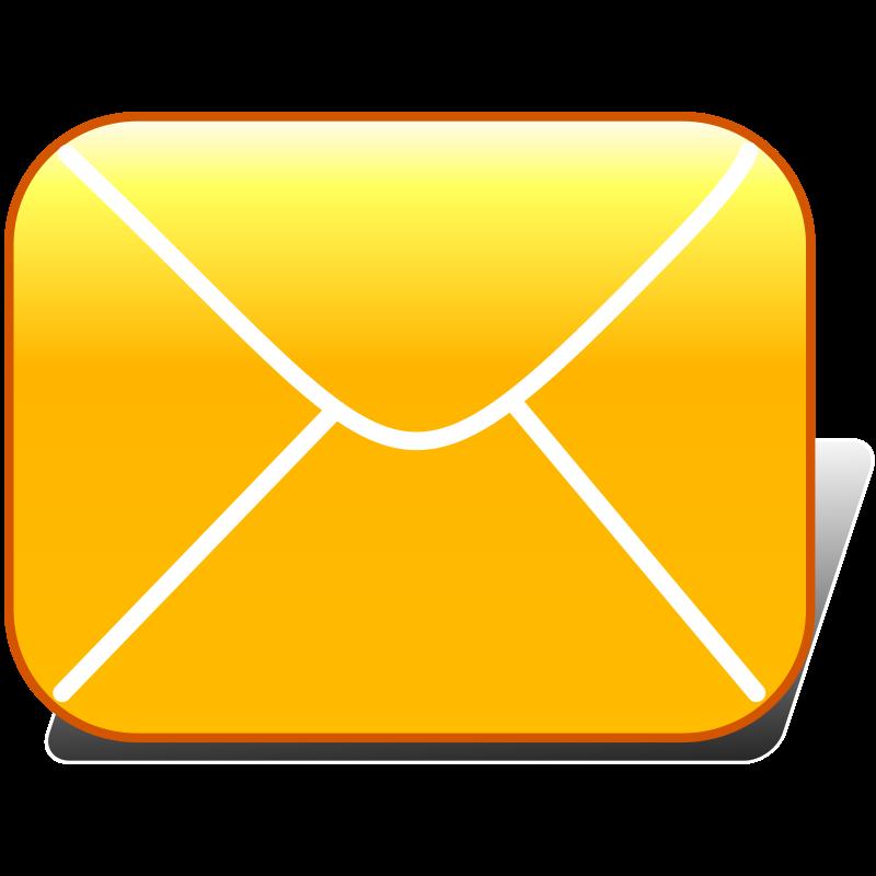 Mail clipart simple. E icon medium image