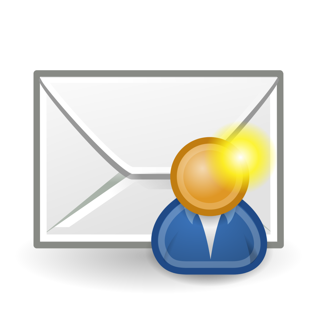 File message to svg. Mail clipart welcome letter