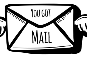 Mail clipart you have mail. Youve got station