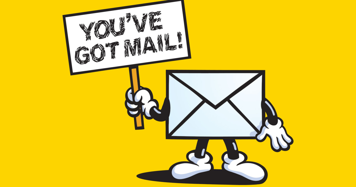Mail clipart you have mail. Aol ve got voice