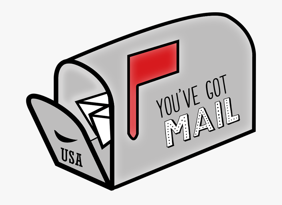 Mail clipart you have mail. Ve got cu postal