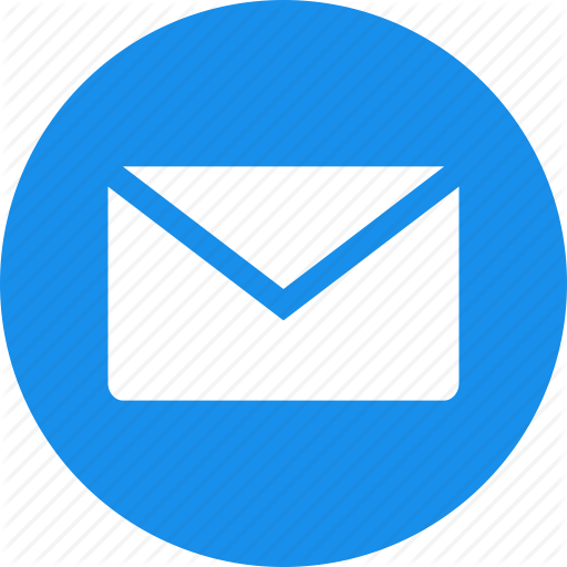 Social messaging ui color. Mail icon png
