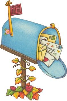 Mailbox clipart. Free pictures clipartix mary