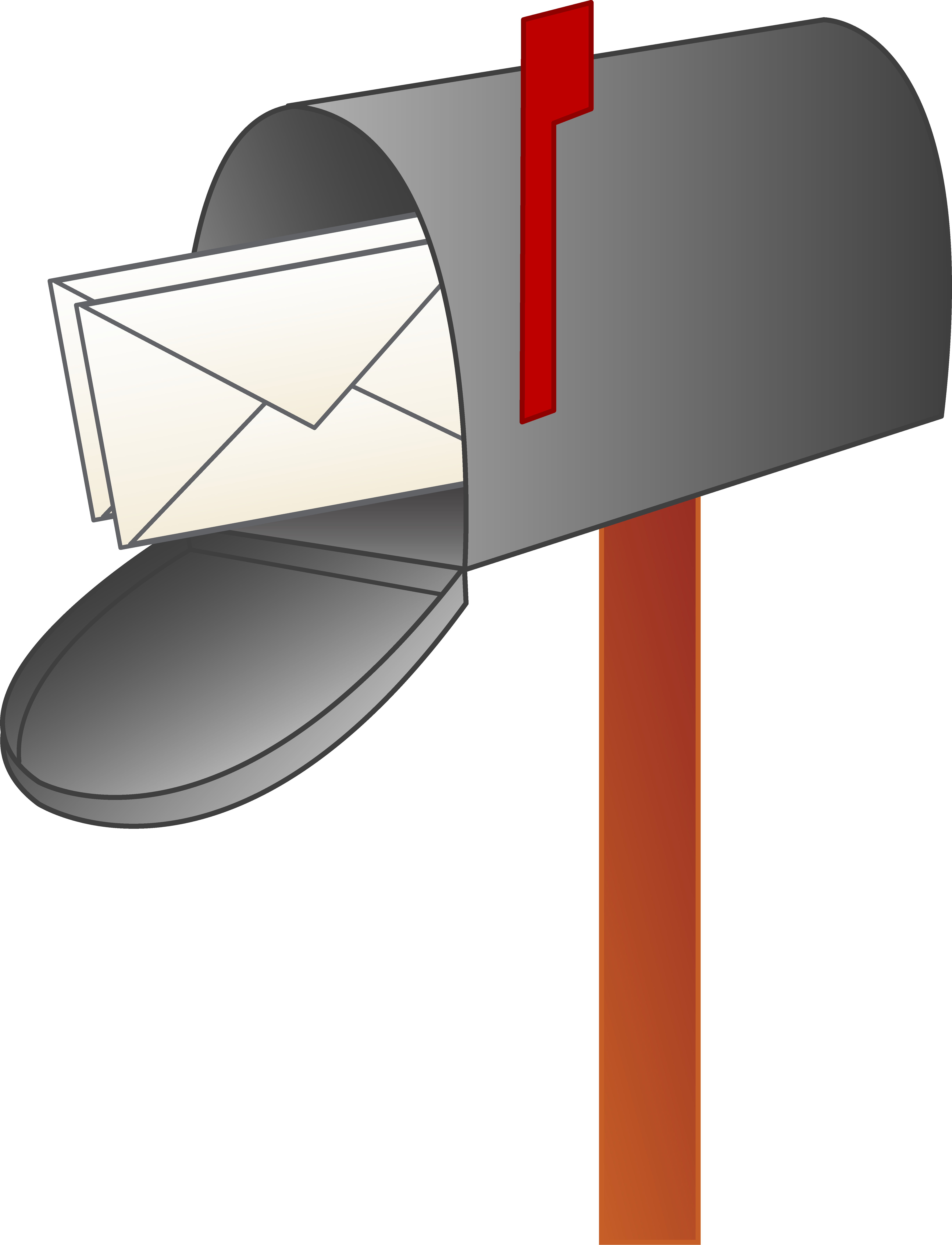 Cartoon . Mailbox clipart