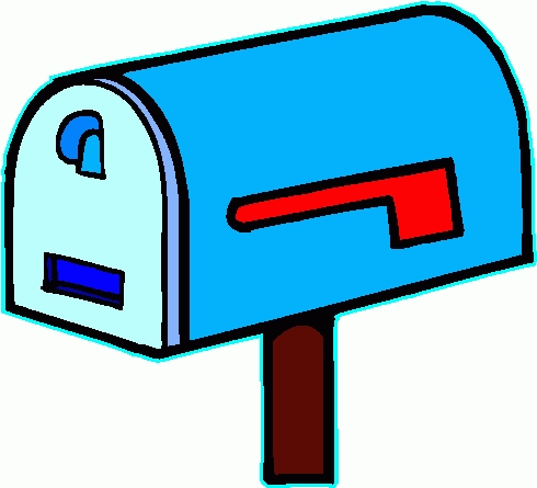 Free of mailboxes vector. Mailbox clipart