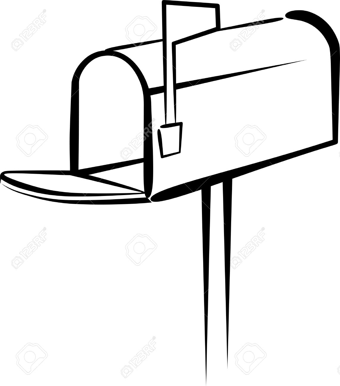 Best of gallery digital. Mailbox clipart
