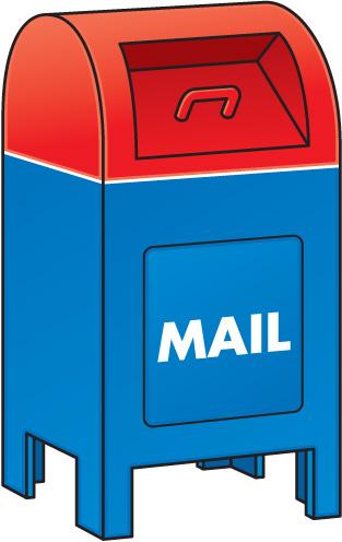Us . Mailbox clipart