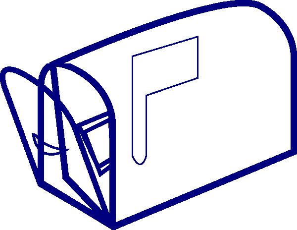 Mailbox clipart blue mailbox. Clear clip art at